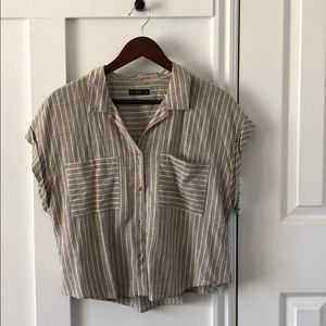 Cotton on Button up Top shirt